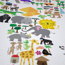 Children S Map Of The World by Childrens Animal Rugs Roselawnlutheran