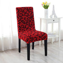 buy cheap stretchy dining chair cover short chair covers washable