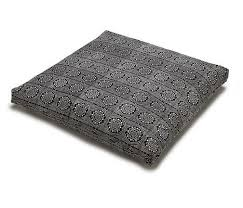 sari pattern zafu meditation cushion black bandhani zabuton meditation cushion chattra