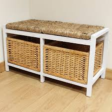 storage bench modern long with storage wood images charming