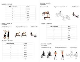 Weight Bench Workout Plan 567 Best Weight Loss Images On Pinterest Circuit Workouts