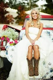 country wedding dresses with boots photo inspiration of the day