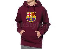 fcb logo pullover hoodie maroon price in pakistan m003395