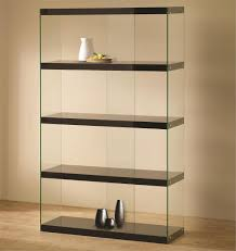 glass bookcase home design by john