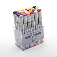 sketch 24 set copic markers sketch ciao online store