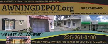 Metal Awnings For Sale Awning Depot Welcome To Awning Depot Org Baton Rouge La