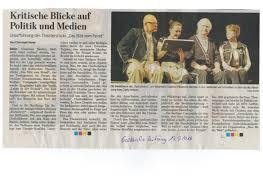 Allgemeine Zeitung Bad Kreuznach Pressestimmen