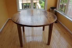 wormy chestnut round table reclaimed wood furniturereclaimed