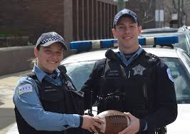 photo of chicago cops playing football with kids goes viral