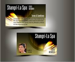 Membership Cards Design 37 Upmarket Modern Graphic Designs For A Business In Singapore