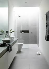 White Tiled Bathroom Ideas We Adore This White And Grey Bathroom Complete With Lavish Basin