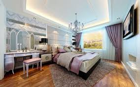 laminate flooring bedroom ideas pink white flower bed cover light blue bedroom walls white curtain
