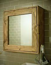 rustic bathroom cabinet ebay
