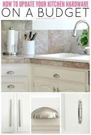 3 Kitchen Cabinet Handles