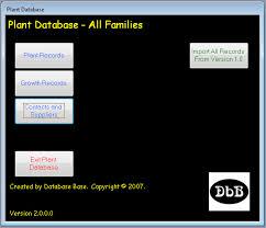 plant collector database database base australia