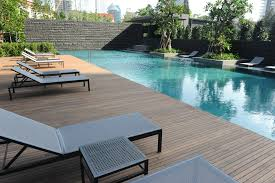 pool design timber deck outdoor furniture scda architects