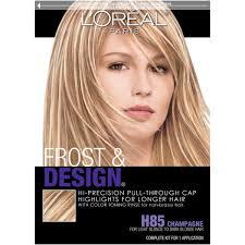 highlights vs frosting of hair l oréal paris frost and design cap hair highlights for long hair