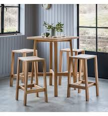 hudson bar stools buy hudson living kielder oak bar stool online cfs uk