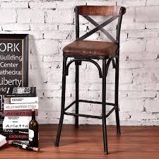 bar stool desk chair louis fashion european style bar chairs iron wood bar chair simple