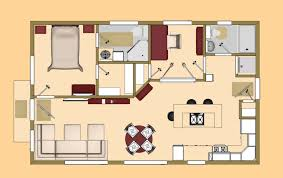 Small House Floor Plans The 640 Sq Ft