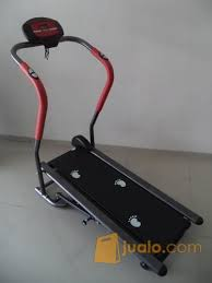 Treadmill Manual Tl 002 1 Fungsi alat olahraga treadmill manual 1 fungsi anti gores total tl 002 ag