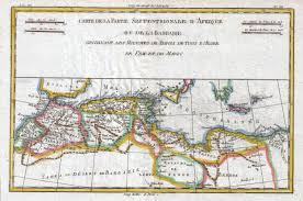 Map Of The Africa by File 1780 Raynal And Bonne Map Of The Barbary Coast Of Northern