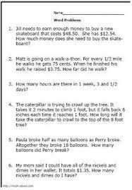 math problems for grade 4 17 best summer math images on 3rd grade math