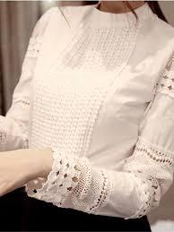 white lace blouses sleeve lace white blouse shirt uniqistic com
