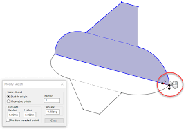 creating and orientating solidworks derived sketches
