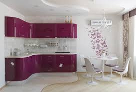 pink kitchen ideas feminine pink kitchen with dining space interior design ideas