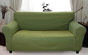 sofa hussen stretch de stretch husse grün hussen für sofa 3 sitzer sofahusse