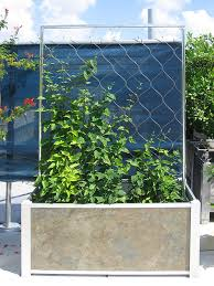 Wooden Planter With Trellis Trellis And Accessories Deepstream Designs