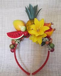 fruit headband tiara carmem miranda aleató miranda