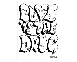 graffiti coloring pages paginone biz