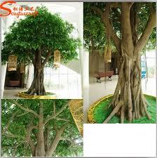 cheap big artificial banyan decorative tree large outdoor