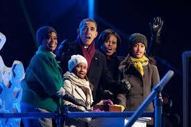 5 4 3 2 1 u2026 the obama family lights the national christmas tree