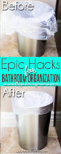 Bathroom Organizers Ideas by 5 Crazy Easy Hacks To Keep Your Bathroom Organized The Pinning Mama