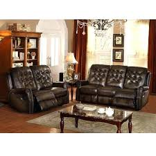 Leather Sofa Packages Leather Sofa And Loveseat Recliner Reclg Black Leather Sofa