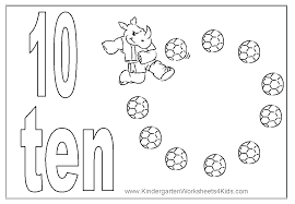 number 10 coloring getcoloringpages