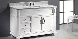 48 nellie farmhouse sink vanity white bathroom vanities for