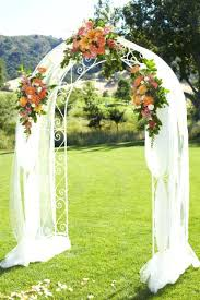 wedding arches on sale how to decorate a wedding arch with tulle and flowers decorated