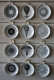 Decorative Plastic Plates How To Hang Plates On A Wall To Create An Eye Catching Look