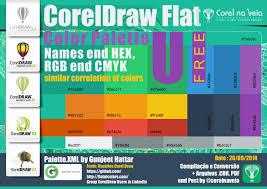 coreldraw flat ui color palette xml end cdr pdf free flat ui