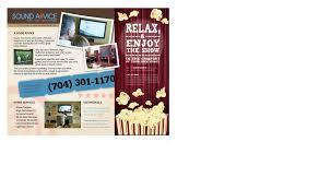 flyer design for sound advice by julius reque design 24272