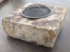 Granite Fire Pit by Building A Fire Pit With Granite Cobblestones Courts
