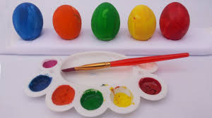 learn color with surprise easter eggs design colors for kids to