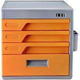 Desktop Filing Cabinet Amazon Com Desktop Organizer With Combination Lock Evertop 4