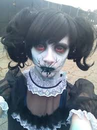 Halloween Costumes Creepy Doll 20 Scary Doll Makeup Ideas U2014no Signup Required