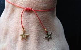 knot cord bracelet images Double star adjustable red string chinese knotting cord jpg