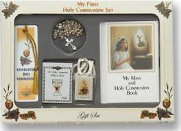 catholic communion gifts girl s my holy communion gift set
